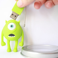 SALE30-70%OFF: 4GB Usb Monster Mike usb Flash Drive 4Gb , Cute Usb Flash Drive , Accessories , usb, Kawaii Funny usb