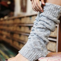 Free People Womens Nub Yarn Legwarmer -
