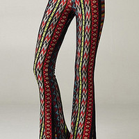 New Mexico Aztec Print Bell Bottom Pants | Sweet Rebel