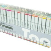 Copic Markers 72-Piece Sketch Set C