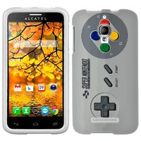 Alcatel OneTouch Fierce SFC Old Video Game Controller Phone Case Cover