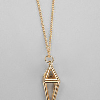Arrow Lantern Necklace - Urban Outfitters