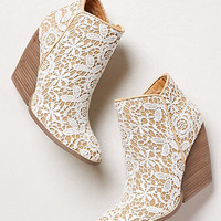 Tallulah Crochet Booties