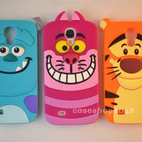 Disney Cartoon Sully soft Silicone Cover Case For Samsung Galaxy SIV S4 I9500