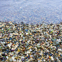 Glass Beach Photograph by Priya Ghose - Glass Beach Fine Art Prints and Posters for Sale