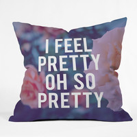 "Leah Flores So Pretty Throw Pillow - Indoor / 26"" x 26"" / Pillow Cover Only"