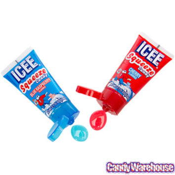 ICEE Squeeze Candy Tubes: 12-Piece Display
