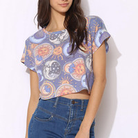 Blackstone Smiling Moon Cropped Tee - Urban Outfitters