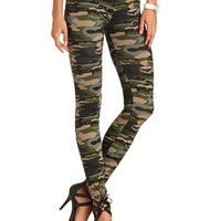 CAMO PRINT COTTON LEGGING