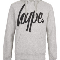 Hype Grey Hoody* - TOPMAN USA