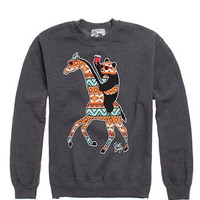 Riot Society Panda Giraffe Crew Fleece at PacSun.com