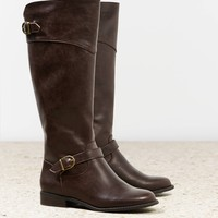 AEO BUCKLE STRAP RIDING BOOT