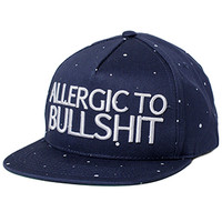 Allergic To BS Navy Strapback