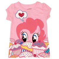 My Little Pony Pinkie Pie Cupcakes Toddler Pink T-Shirt
