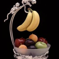 "Product: Arthur Court ""Monkey"" Banana Holder"