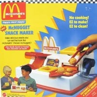 Mattel McDonald's Happy Meal Magic McNugget Snack Maker 1993