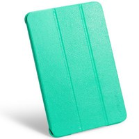 INVELLOP Teal/Turquoise Leatherette Case Cover for Apple iPad mini retina (also known as iPad mini 2 II)