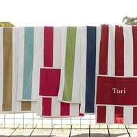 Awning Stripe Beach Towel