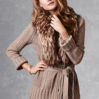 Cable-knit Cardi Sweater Coat - A Kiss of Cashmere - Victoria's Secret