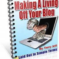 BLOGGING For A Living - Easier Than You Think Make A Living From Blog  (CD-ROM)
