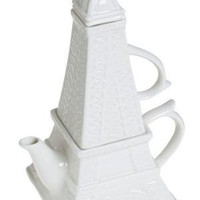 Eiffel Tea-wer Set for One | Mod Retro Vintage Kitchen | ModCloth.com
