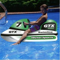 Amazon.com: Wet Ski Pool Float Toy: Patio, Lawn & Garden