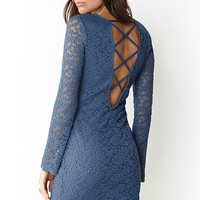 Sweet Lace Sheath Dress