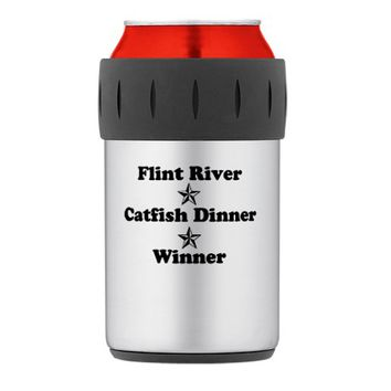 Flint River, Catfish Dinner, Winner Thermos® Can C