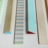 Present&Correct - Stripy Rulers