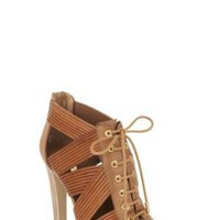 BCBGMAXAZRIA - WHAT&#x27;S NEW: LACE-UP SANDAL
