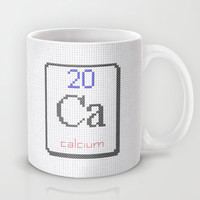 Ca calcium 20 Mug by LacyDermy