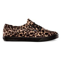 VANS Furry Leopard Authentic Lo Pro Womens Shoes