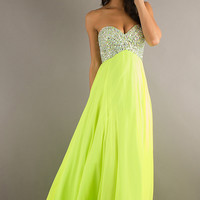 2013 Prom Dresses Empire Sweetheart Chiffon With Rhinestone ML-93023,2013 Prom Dresses