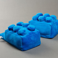Building Block Slippers | Toy Slippers | BunnySlippers.com