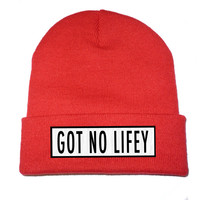 KULT Clothing — GOT NO LIFEY BEANIE