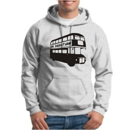 One Direction London Tour Bus 1D HOODIE Sweatshirt Tour UK British-Irish Boy Band Niall Liam Zayn Louis Harry HOODIE Sweatshirt