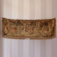 Vintage Turn of the Century Runner with Venetian Scene