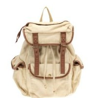 Ecote Canvas Rucksack