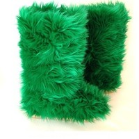 Emerald Green – Fluffy Wuffies Classic Tall Boots