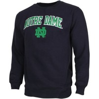 Notre Dame Fighting Irish Game Day Fleece Sweatshirt - Navy Blue
