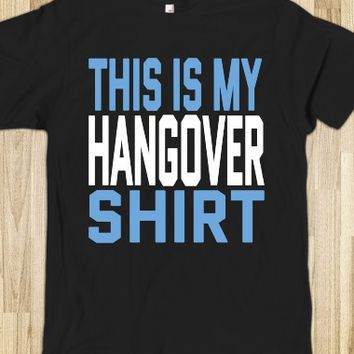THIS IS MY HANGOVER DARK SHIRT (BLUE WHITE ICL22)