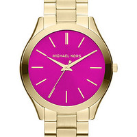 Michael Kors Watch, Women's Gold-Tone Stainless Steel Bracelet 42mm MK3264