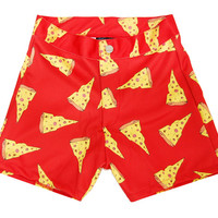 PIZZA SLUT BOOTY SHORTS