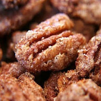CINNAMON SUGAR PECANS in Mason Jar ((Perfect Holiday Gift!))