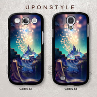 Samsung Galaxy S4 case, Galaxy S3 case, Disney Tangled, Phone Cases, Phone Covers, Skins, Case for Samsung, Case No-182