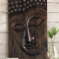 Serene Buddha Panel at Meditation Designs