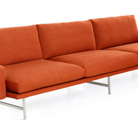 pl113 3-seater sofa with armrests