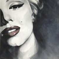 Marilyn Monroe Art Print by HOMartistry
