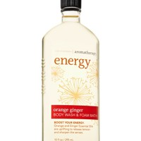 Body Wash & Foam Bath Energy - Orange Ginger