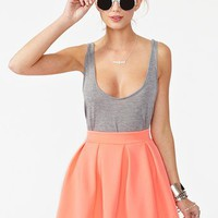 Scuba Skater Skirt in What&#x27;s New at Nasty Gal